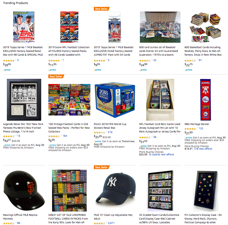 Sports Collectables - dealsinretail.com