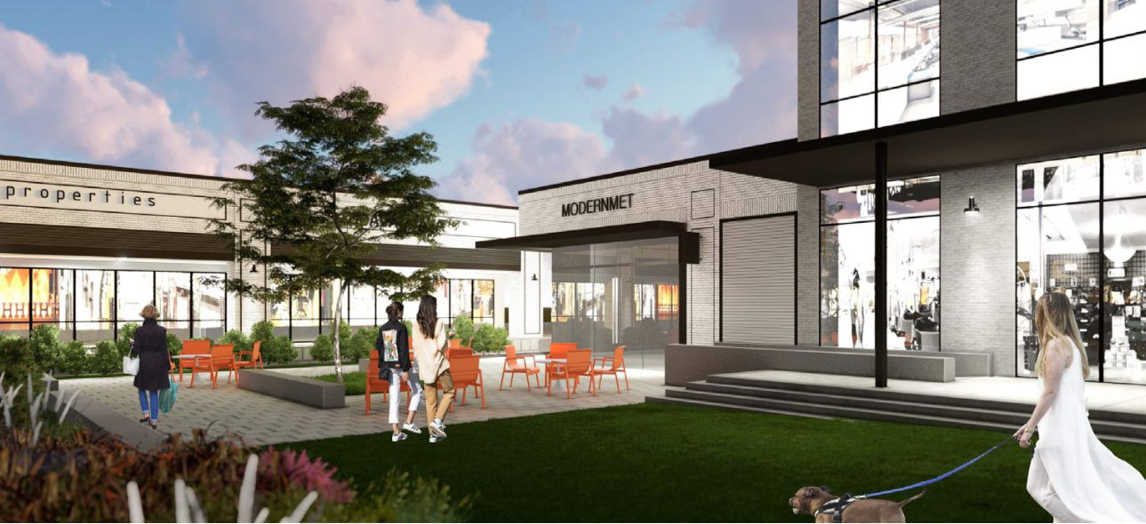 Addison retail center will be revamped with park and offices - deals in retail