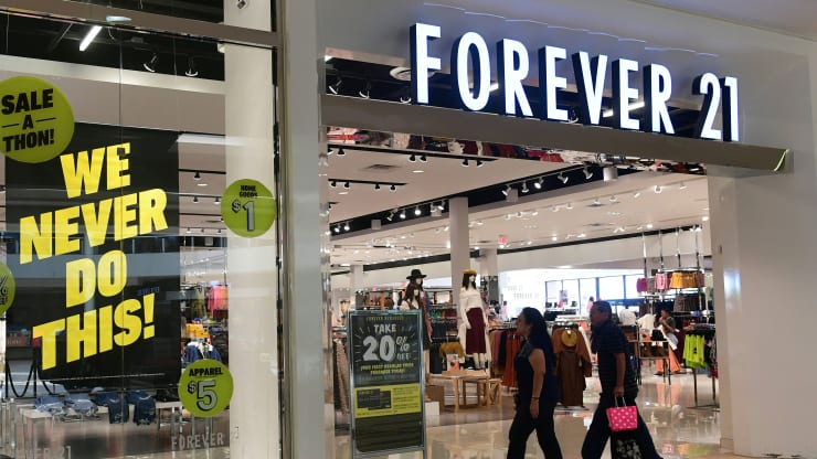 Forever 21 reaches $81 million deal to sell its retail business to US mall owners and Authentic Brands - deals in retail